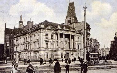 Tak wyglądał bank Braci Alexander (fot. fotopolska.eu)