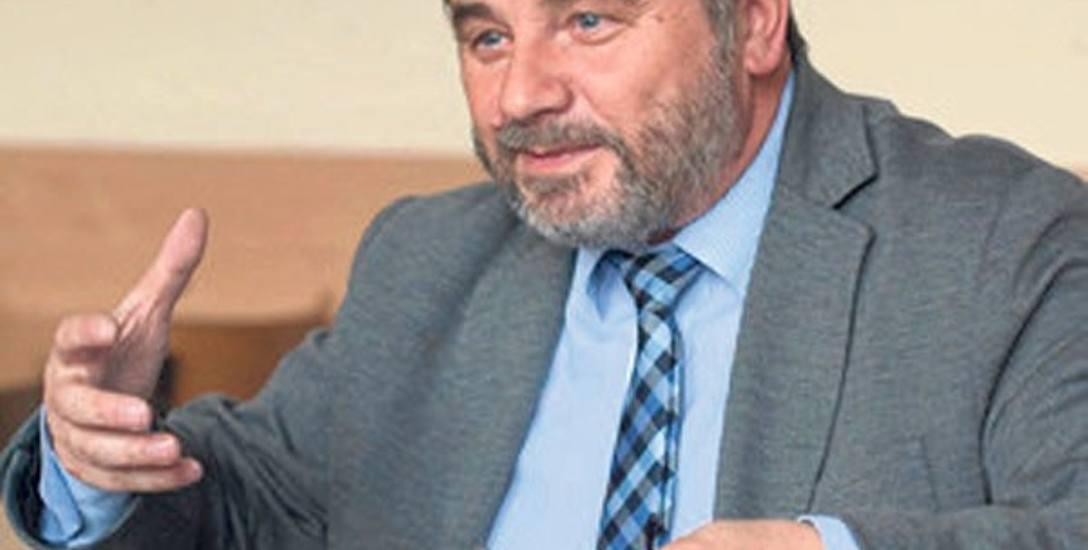 Rafał Janus, dyrektor I LO w Koszalinie, które ma najlepszy wynik w mieście.