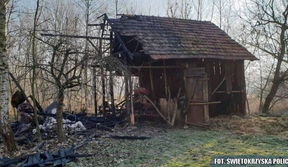 Film do artykułu: Gmina Działoszyce. Czterech nastolatków podejrzanych o serię podpaleń na terenie gminy