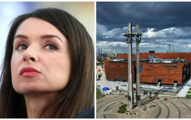 Marta Kaczyńska w Kolegium Europejskiego Centrum Solidarności
