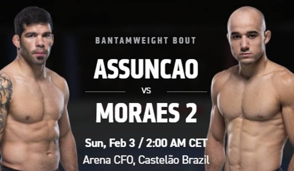 Film do artykułu: UFC Fight Night 2019. Walka wieczoru Assuncao - Moraes. Gdzie oglądać UFC Fight Night? [2.02.2019]