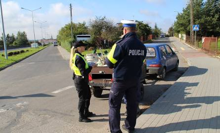 POdczas akcji na drogach krajowych policja stwierdziła ponad 140 wykroczeń.