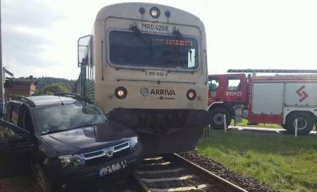 Do zdarzenia doszło wczoraj około godziny 14 na przejeździe kolejowym w Wałdowie Szlacheckim (powiat grudziądzki). Na szczęście nikomu nic się nie s