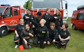 Kobieca drużyna OSP Lipna