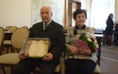 Alicja i Ryszard Lechowscy – obchodzili 70-lecie zawarcia związku małżeńskiego.