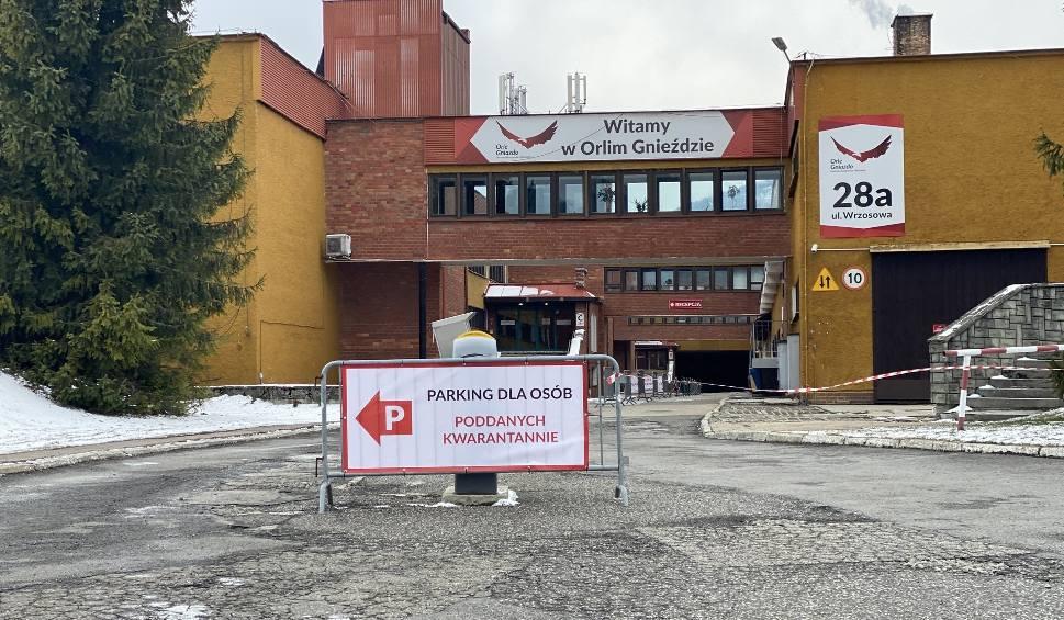 Film do artykułu: Dramatyczny apel pracowników Orlego Gniazda w Szczyrku do mieszkańców: Nie bądźcie ciekawscy!