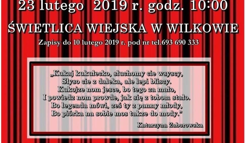 Film do artykułu: III Dyktando Gwarowe już 23 lutego w Wilkowie