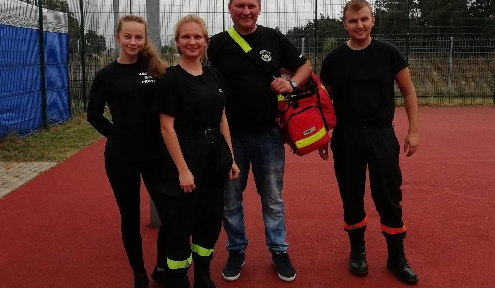 Film do artykułu: Dzień sportu w Przytyku. Pokaz ratownictwa medycznego i atrakcje na boisku
