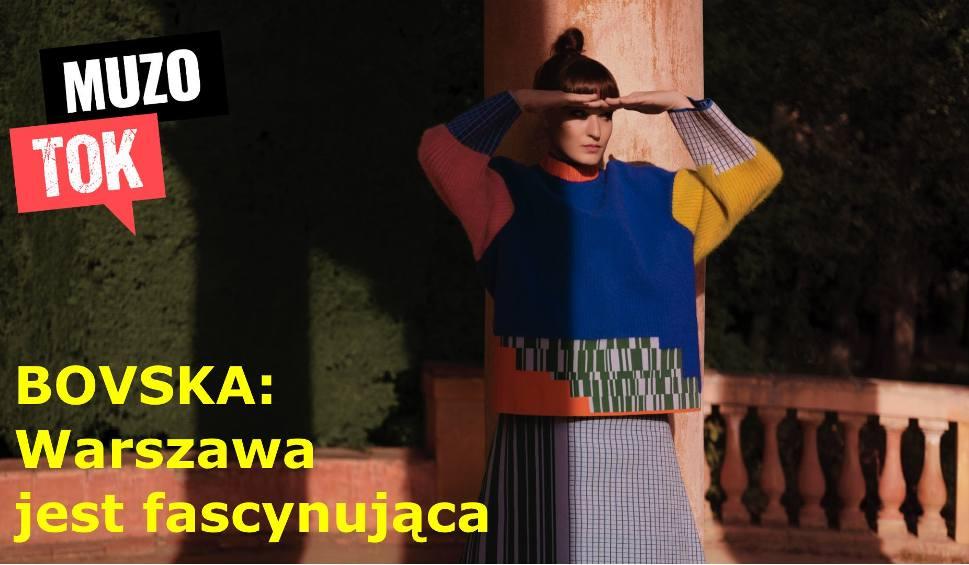 """Film do artykułu: BOVSKA: Nowa płyta """"Kęsy"""" oraz hit """"Kimchi"""". Artystka kocha Warszawę. Jakie miejsca uwielbia odwiedzać i kiedy koncerty?"""
