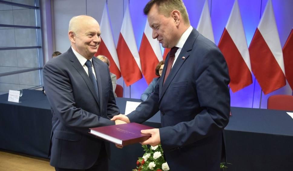 Film do artykułu: Minister Błaszczak w Morawicy. Pogratulował nabycia praw miejskich (WIDEO, ZDJĘCIA)