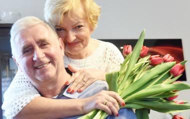 Halina i Aleksander Jakubowscy z Zielonej Góry są już małżeństwem prawie 47 lat.