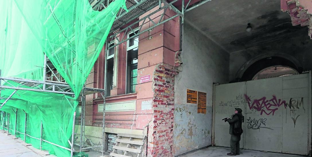 Mariusz Łojko: - W przypadku rozbiórki ścian zewnętrznych bezpowrotnie zostanie utracony detal architektoniczny