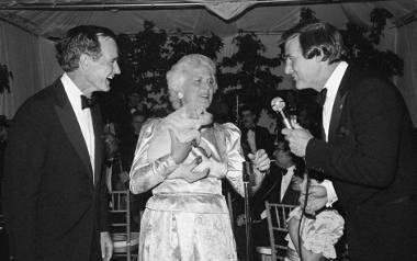 George Bush i Barbara Bush w 1983 r. w Malibu