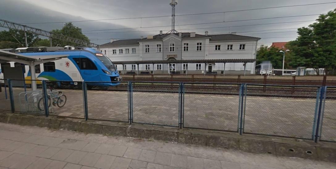 Dworzec PKP w Gryfinie
