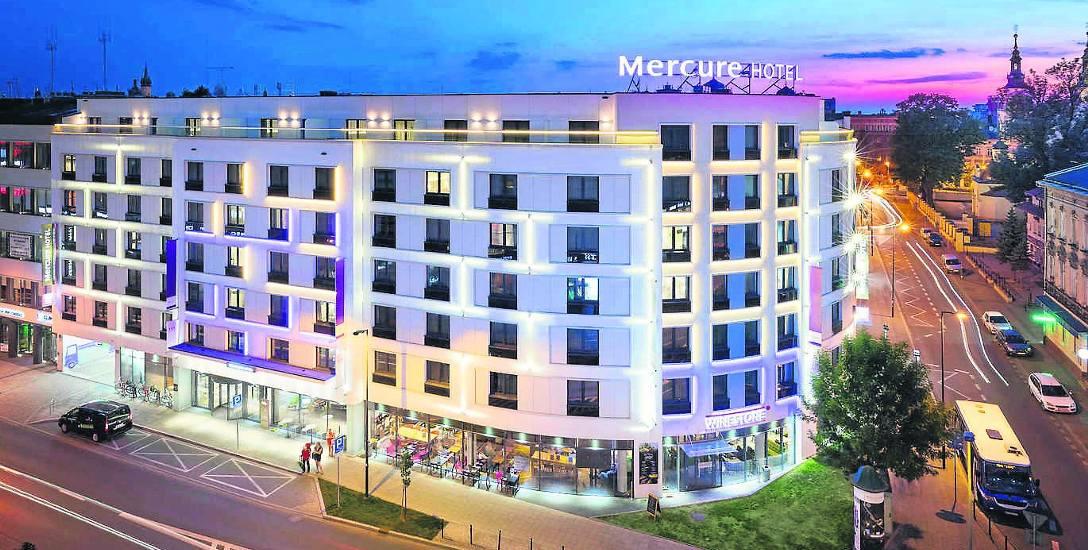 Tak wygląda holet Mercure w Krakowie na Starym Mieście. Czy podobny będzie hotel Mercure w Sosnowcu?