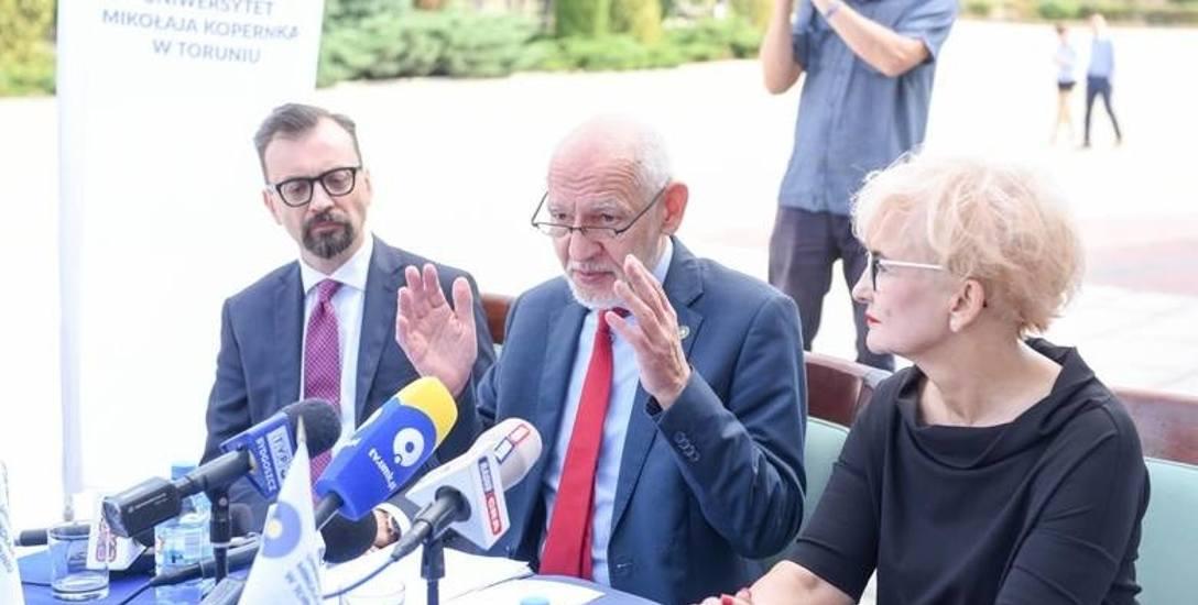 Profesor Andrzej Sokala chce zostać rektorem UMK, kto stanie z nim w szranki?