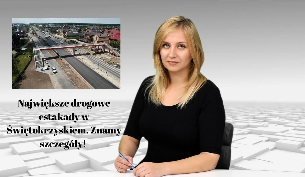 Film do artykułu: WIADOMOŚCI ECHA DNIA. Największe drogowe estakady w Świętokrzyskiem. Znamy szczegóły!