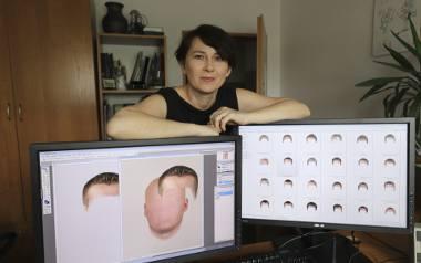 Asp. Ewa Zemło jest jedyną w naszym województwie biegłą z zakresu badań antroposkopijnych. Dzięki jej portretom pamięciowym - tworzonym dziś już głównie