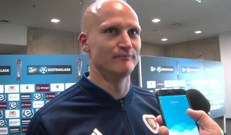 Film do artykułu: Jakub Czerwiński po meczu z Lechią Gdańsk: Nie mamy czasu na świętowanie, w niedzielę trening