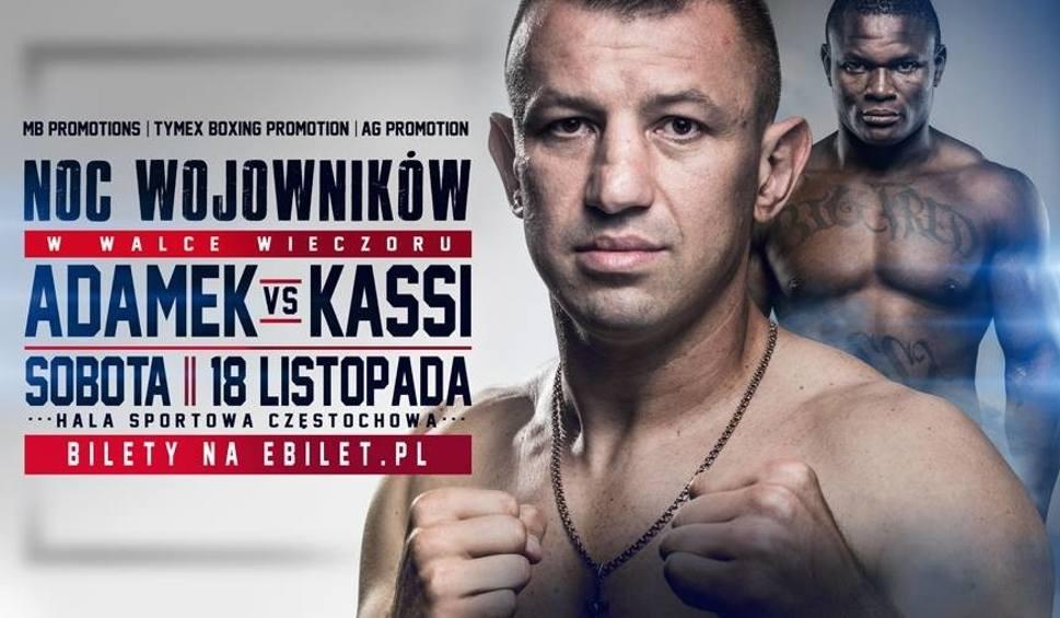 """Film do artykułu: Gala boksu w Częstochowie. Bokserska """"Noc wojowników"""": kto wejdzie na ring oprócz Tomasza Adamka?"""