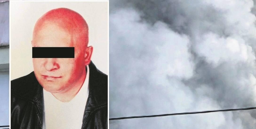 Mariusz P. podłożył ogień na 13 piętrze wieżowca, żeby zemścić się na rodzinie byłej żony