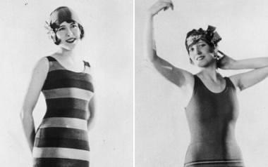 Stroje kąpielowe kiedyś i dziś: jakie kostiumy były modne dawniej? 100 lat mody plażowej