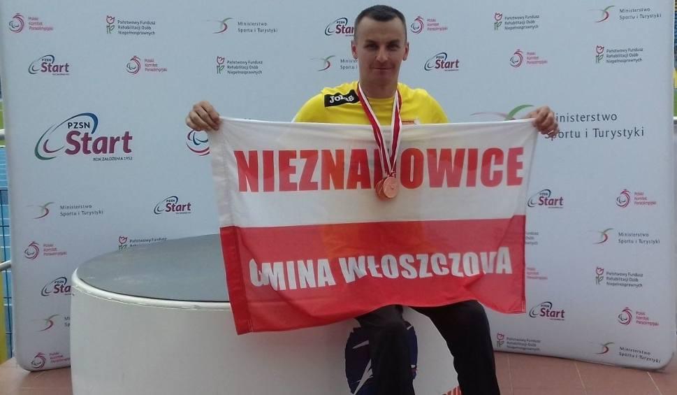 Film do artykułu: Kolejne sukcesy niepełnosprawnych zawodników z Nieznanowic. Michał Szafrański z trzema brązowymi medalami