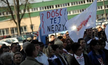 Bunt pracowników szczecińskiego Agryfu [film, zdjęcia]