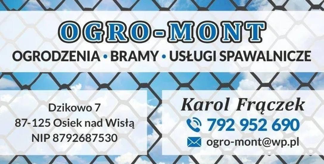 OGRO-MONT Karol Frączek