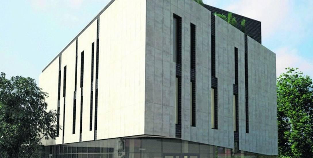W tym nowoczesnym budynku usługowo-edukacyjnym będą m.in. obserwatorium astronomiczne, sala kinowa i widowiskowa