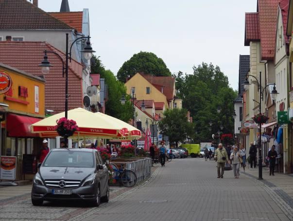 Ulica Marynarki Polskiej w Ustce