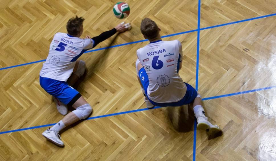 Film do artykułu: 1 liga siatkarzy, 14 kolejka. Buskowianka Kielce przegrała 0:3 z Gwardią we Wrocławiu (ZDJĘCIA Z MECZU)