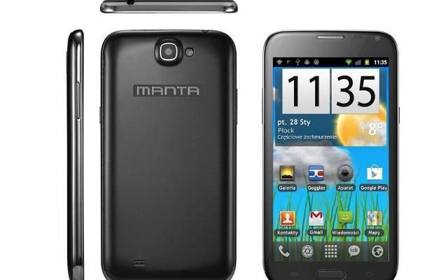 Manta: Będziemy robić smartfony