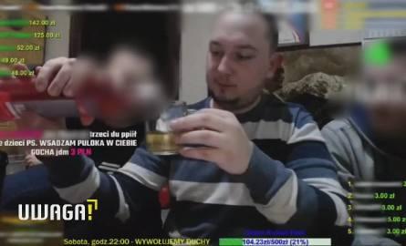 Daniel Magical Zwierzyński w UWAGA! TVN: Patostreamy na żywo z ul. Urzędniczej 2 w Toruniu oglądają tysiące ludzi. Urzędnicy są bezsilni
