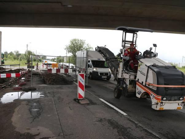 Remont ulicy Pełczyńskiej, zdjęcie ilustracyjne