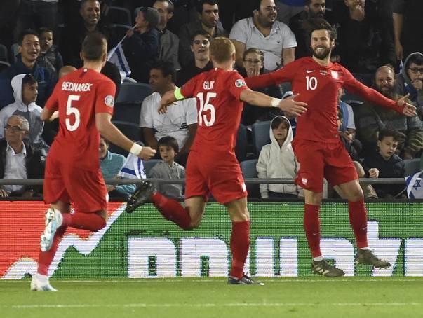 Eliminacje Euro 2020: Izrael - Polska 1:2. Wielki skandal na koniec! [ZDJĘCIA, WYNIK]