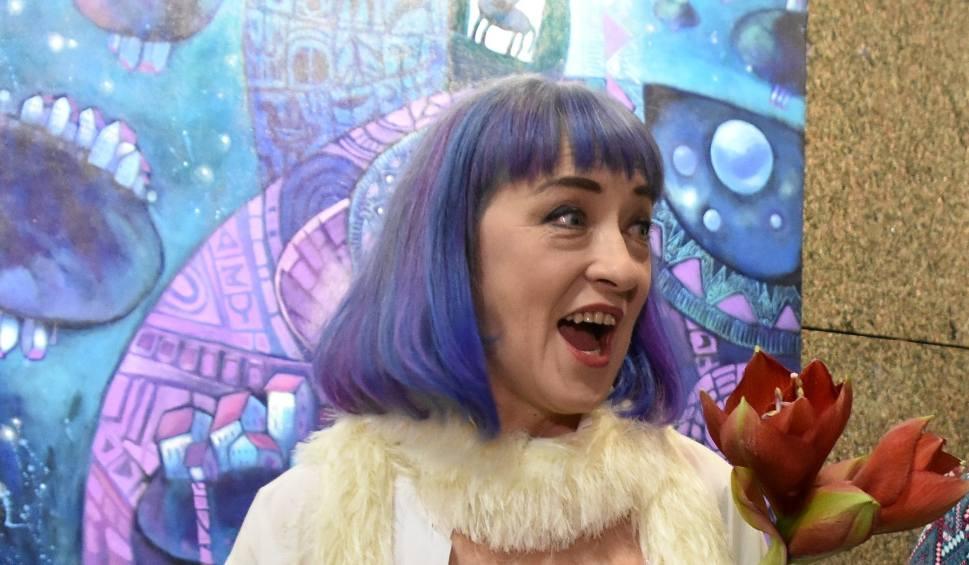 """Film do artykułu: Gdzie anioły mówią """"Dzień dobry""""? Odpowiedź na wystawie obrazów Lilianny Lilu Batory w Salonie Wystaw PGNiG SA Oddział w Zielonej Górze"""