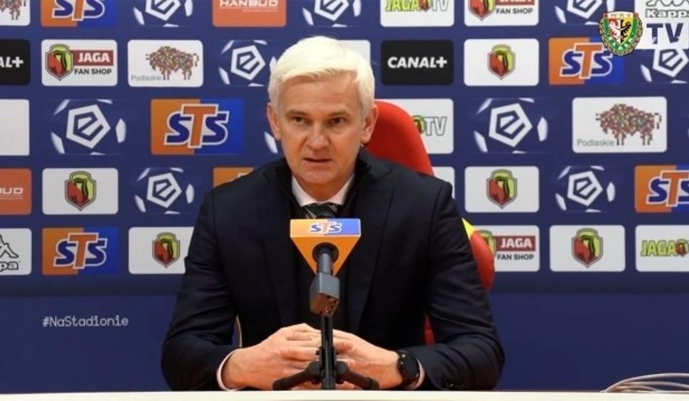 Film do artykułu: PKO Ekstraklasa. Trener Śląska Wrocław Jacek Magiera: Wymagamy od zespołu zwycięstw i to zostało zrealizowane