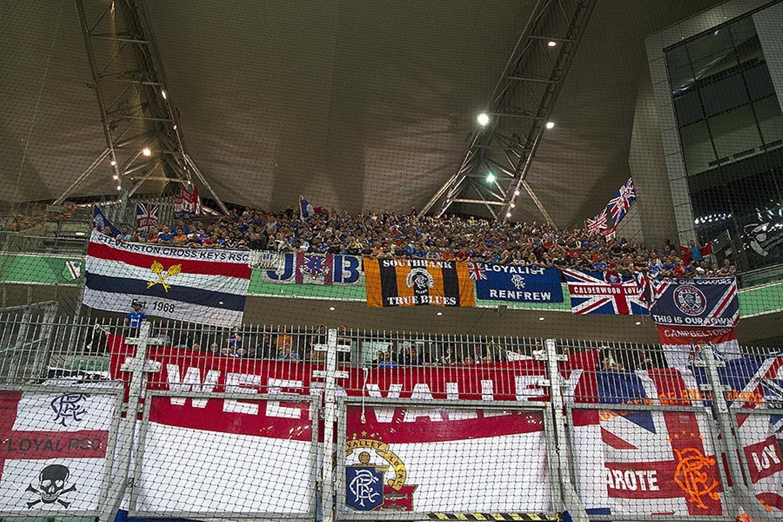 Zdjęcia z meczu Legia Warszawa - Rangers FC 0:0 [GALERIA]