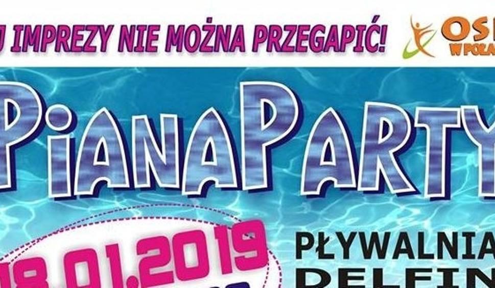 Film do artykułu: Impreza w Połańcu odwołana z powodu żałoby narodowej. Piana Party przeniesiona na 25 stycznia