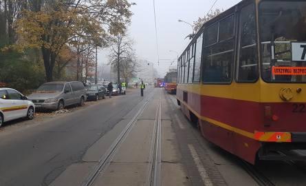 Problem z hamowaniem tramwajów w Łodzi