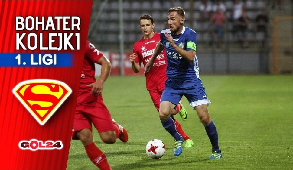 Film do artykułu: Nice 1 liga. Wojciech Łobodziński – bohater 33. kolejki Nice 1. ligi GOL24 [ROZMOWA]