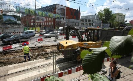 Remont przy skrzyżowaniu Borowskiej i Dyrekcyjnej jeszcze tylko do końca tego tygodnia