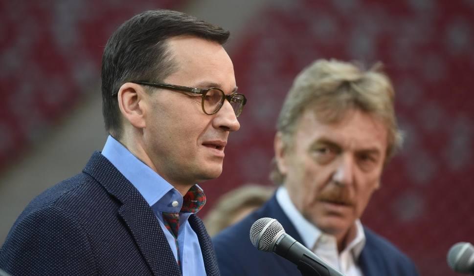 Film do artykułu: Mateusz Morawiecki o kibicach na stadionach: Pracujemy nad tym z PZPN