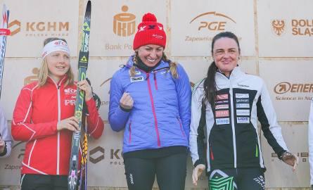Justyna Kowalczyk pierwszy raz w karierze startowała w Biegu Piastów. Lepsi byli od niej tylko panowie