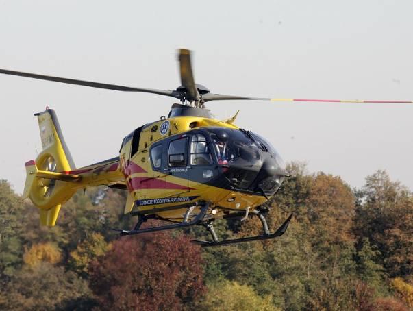 W wypadku zginęły dwie osoby. Trzecią, która została ranna, do szpitala zabrał śmigłowiec LPR.