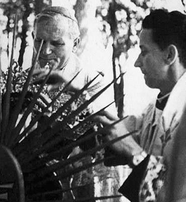Jedyny wypadek samochodowy kardynał Wojtyła miał na Kociewiu, po mszy w Gniewie