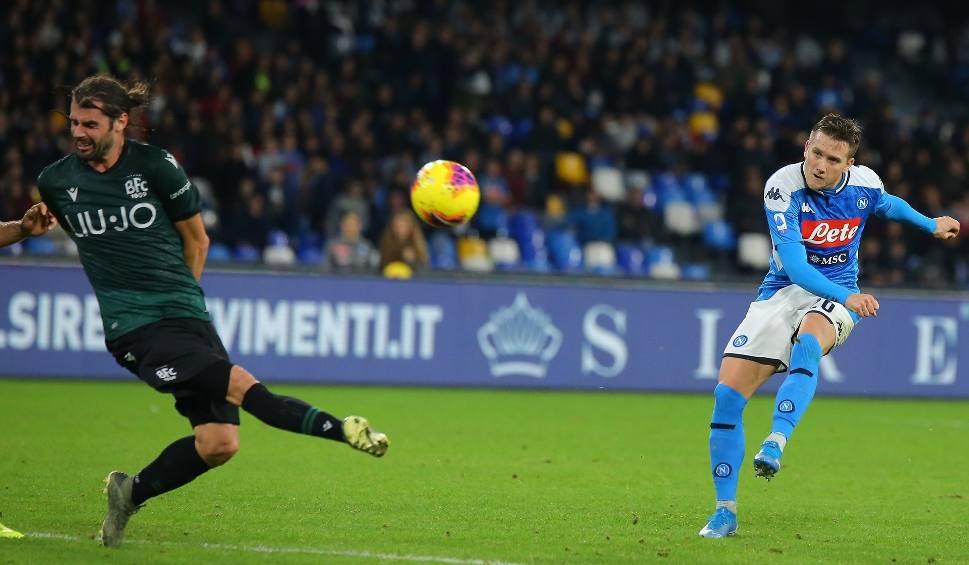 Film do artykułu: Liga Mistrzów. W Napoli walczą sami ze sobą, Piotr Zieliński w gronie obrońców Carlo Ancelottiego. Inter chce zrobić krzywdę Barcelonie