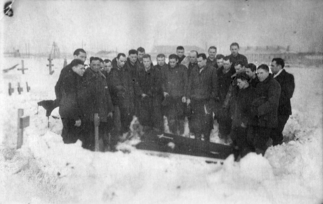 pogrzeb Wilniuka na Workucie