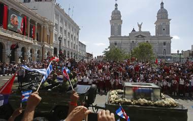 Kuba pożegnała Fidela Castro. Hołd oddały mu tysiące ludzi